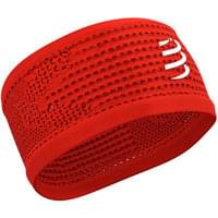 COMPRESSPORT HEADBAND ON/OFF RED 20