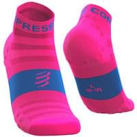 COMPRESSPORT PRO RACING SOCKS V3.0 ULTRALIGHT RUN LOW FLUO PINK 20