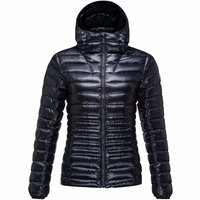 ROSSIGNOL W LIGHT DOWN HOOD JKT BLACK 19