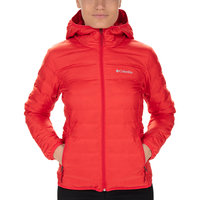 Textile - accessoires COLUMBIA COLUMBIA LAKE 22 DOWN HOODED JACK RED LILY 20 - Ekosport