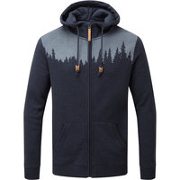 TENTREE MEN'S JUNIPER ZIP HOODIE DARK OCEAN BLUE HEATHER 21