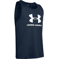 UNDER ARMOUR SPORTSTYLE LOGO TANK NAVY 20
