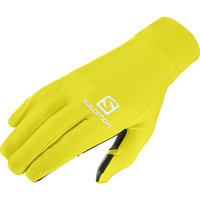 SALOMON PULSE GLOVE U SULPHUR SPRING/BLACK 20