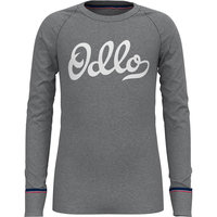 BU TEXTILE ODLO ODLO ACTIVE WARM ORIGINAL ECO KIDS BL TOP CREW NECK L/S GREY MELANGE 21  - Ekosport