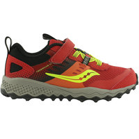 SAUCONY S-PEREGRINE 10 SHIELD A/C JR RED 20