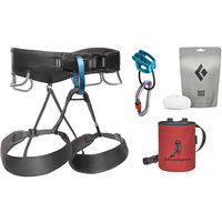 Escalade - Alpinisme BLACK DIAMOND BLACK DIAMOND MOMENTUM HARNESS M'S PACK 20 ANTHRACITE 20 - Ekosport