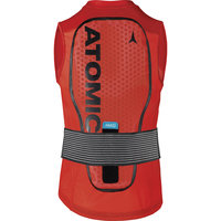 Dorsale et protection ATOMIC ATOMIC LIVE SHIELD VEST AMID M RED 21 - Ekosport