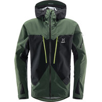 HAGLÖFS SPITZ JACKET MEN TRUE BLACK/FJELL GREEN 21