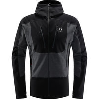 HAGLÖFS SERAC HOOD MEN TRUE BLACK/MAGNETITE 21