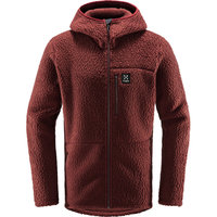 HAGLÖFS PILE HOOD MEN MAROON RED 21