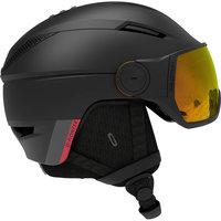 Boutique SALOMON SALOMON PIONEER VISOR PHOTO BLK/AW RED 21 - Ekosport