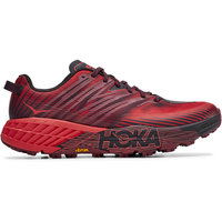 HOKA SPEEDGOAT 4 CORDOVAN/HIGH RISK RED 20