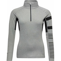 ROSSIGNOL W POURSUITE 1/2 ZIP HEATHER GREY 21