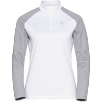 ODLO PULL 1/2 ZIP PLANCHES W GREY MELANGE/WHITE 21