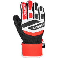 BU Textile REUSCH REUSCH WORLDCUP WARRIOR PRIME R-TEX JR BLACK/WHITE/FLUO RED 21  - Ekosport