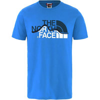 THE NORTH FACE M S/S MOUNT LINE TEE CLEAR LAKE BLUE 20 - UNI