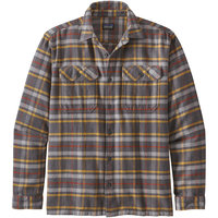 PATAGONIA M'S L/S FJORD FLANNEL SHIRT INDEPENDENCE FORGE GREY 21