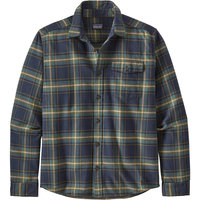 PATAGONIA M'S LW FJORD FLANNEL SHIRT LAWRENCE NEW NAVY 21