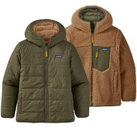 Vêtement casual PATAGONIA PATAGONIA BOYS' REVERSIBLE READY FREDDY HOODY BASIN GREEN 21 - Ekosport