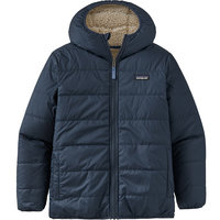 Boutique PATAGONIA PATAGONIA BOYS' REVERSIBLE READY FREDDY HOODY NEW NAVY 21 - Ekosport