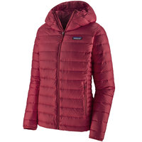 PATAGONIA W'S DOWN SWEATER HOODY ROAMER RED 21