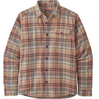 PATAGONIA M'S LW FJORD FLANNEL SHIRT COLLECTIVE MELLOW MELON 20