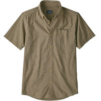 PATAGONIA M'S LW BLUFFSIDE SHIRT RAIL STRIPE PRONGHORN TAN 20
