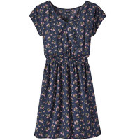 PATAGONIA W'S JUNE LAKE DRESS SWEET PEAS NEW NAVY 20