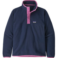 PATAGONIA GIRLS' MICRO D SNAP-T P/O NEW NAVY 20