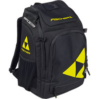 FISCHER BOOT/HELMET BACKPACK ALPINE RACE 36L BLACK/YELLOW 21