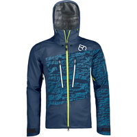 Vêtement hiver ORTOVOX ORTOVOX 3L GUARDIAN SHELL JACKET M NIGHT BLUE 21 - Ekosport