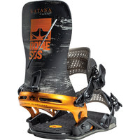 BU Ski Alpin ROME ROME KATANA BLACK ORANGE 21 - Ekosport