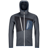 ORTOVOX FLEECE GRID HOODY M BLACK STEEL 21
