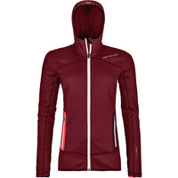 ORTOVOX FLEECE HOODY W DARK BLOOD 21