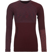 BU TEXTILE ORTOVOX ORTOVOX 230 COMPETITION LONG SLEEVE W DARK WINE BLEND 21 - Ekosport