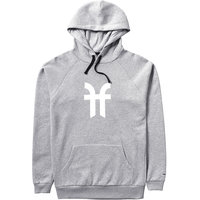 FACTION LOGO HOODIE CLOUDY GREY 21