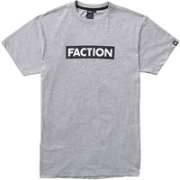 Vêtement casual FACTION FACTION LOGO TEE CLOUDY GREY 21 - Ekosport