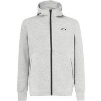 OAKLEY ENHANCE QD FLEECE JKT 10.7 NEW ATHLETIC GREY  21