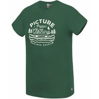 BU TEXTILE PICTURE PICTURE COLTER TEE FOREST GREEN 21 - Ekosport