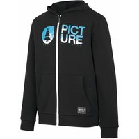 PICTURE BASEMENT ZIP HOODY KIDS BLACK