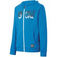 PICTURE BASEMENT ZIP HOODY KIDS BLUE 21 - B