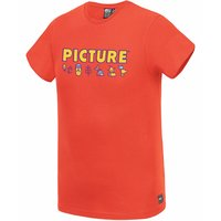 PICTURE OTTO KIDS TEE RED 21