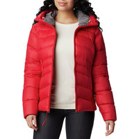 BU TEXTILE COLUMBIA COLUMBIA AUTUMN PARK DOWN HOODED RED LILY 21 - Ekosport