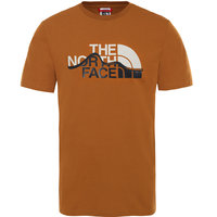 Vêtement casual THE NORTH FACE THE NORTH FACE M S/S MOUNT LINE TEE TIMBER TAN 21 - Ekosport