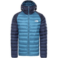 Collection THE NORTH FACE THE NORTH FACE M TREVAIL HOODIE MALLARD BLUE/URBAN NAVY 21 - Ekosport