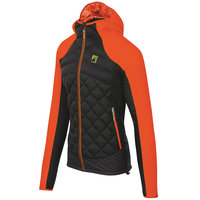 KARPOS LASTEI ACTIVE PLUS JACKET BLACK/TANGERINE TANGO 21
