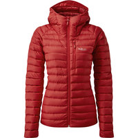 Textile - accessoires RAB RAB MICROLIGHT ALPINE JACKET WMNS ASCENT RED 21 - Ekosport
