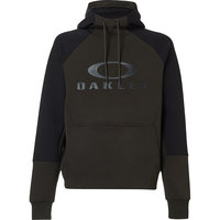 OAKLEY SIERRA DWR FLEECE HOODY BLACK/GREEN 21