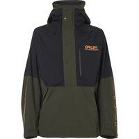 OAKLEY TNP LINED SHELL ANORAK BLACK/GREEN 21