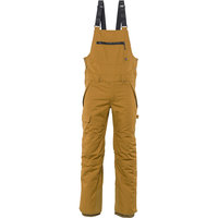 686 MENS HOT LAP INSULATED BIB GOLDEN BROWN 21